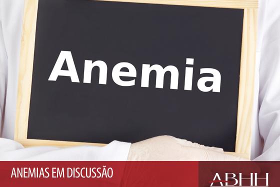 Anemia não é normal em nenhuma faixa etária