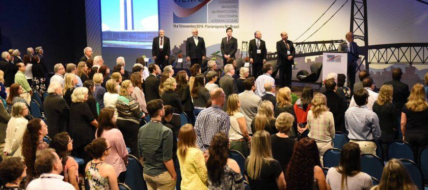 HEMO 2016 tem inscrição recorde de trabalhos e conferência magna de sucesso