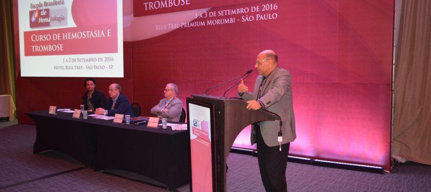 ABHH reforça papel de promotora de atualização clínica em curso sobre Trombose e Hemostasia
