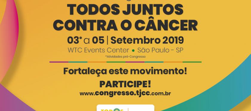 6º Congresso Todos Juntos Contra o Câncer reúne os principais  líderes da Oncologia em São Paulo