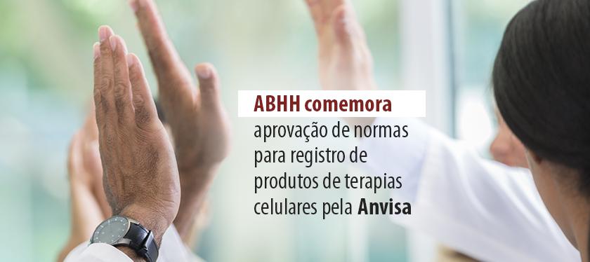 Anvisa define norma para registro de produtos de terapias celulares