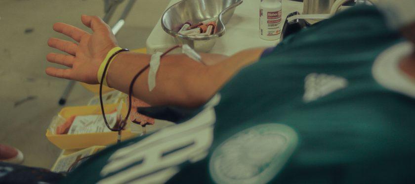 """2ª Ação da Campanha """"Sangue Verde e Amarelo"""" no Allianz Parque – Palmeiras"""
