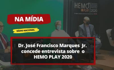 HEMO PLAY 2020 para Rádio Nacional