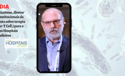 Dr. Carlos Chiattone, diretor de relações institucionais da ABHH, comenta sobre terapia genética  (Car-T Cell,) para o Portal dos Hospitais Brasileiros