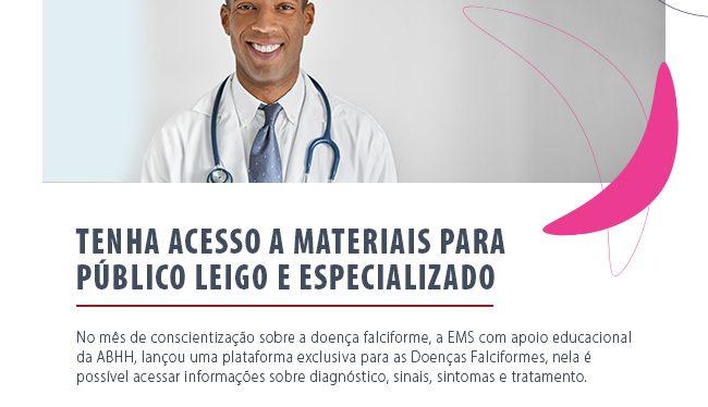 Doenças Falciformes: Tenha acesso a materiais para público especializado e leigo